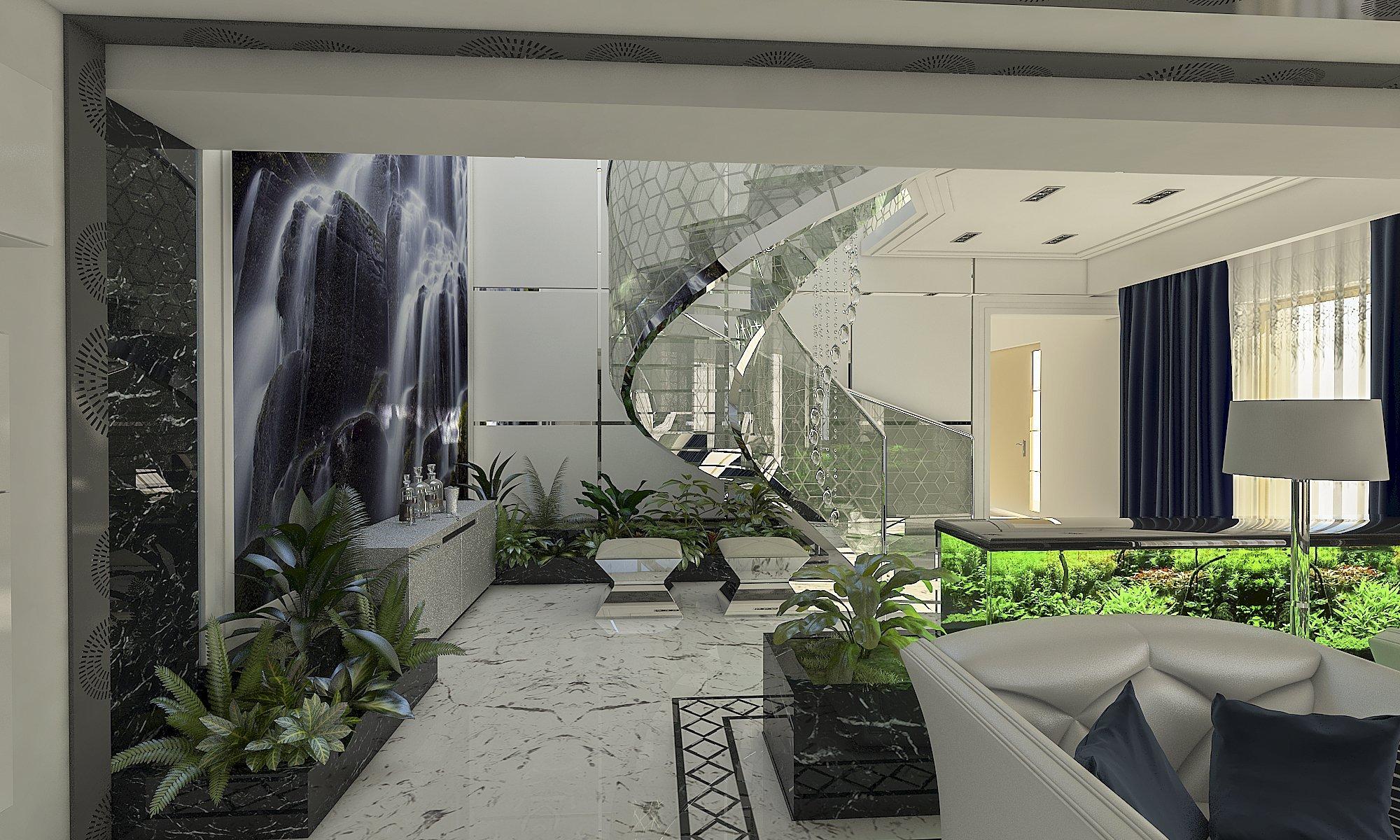 AMENAJARE INTERIOARA & EXTERIOARA - CASA MODERNA CU ACCENTE LUXURY studio insign proiect