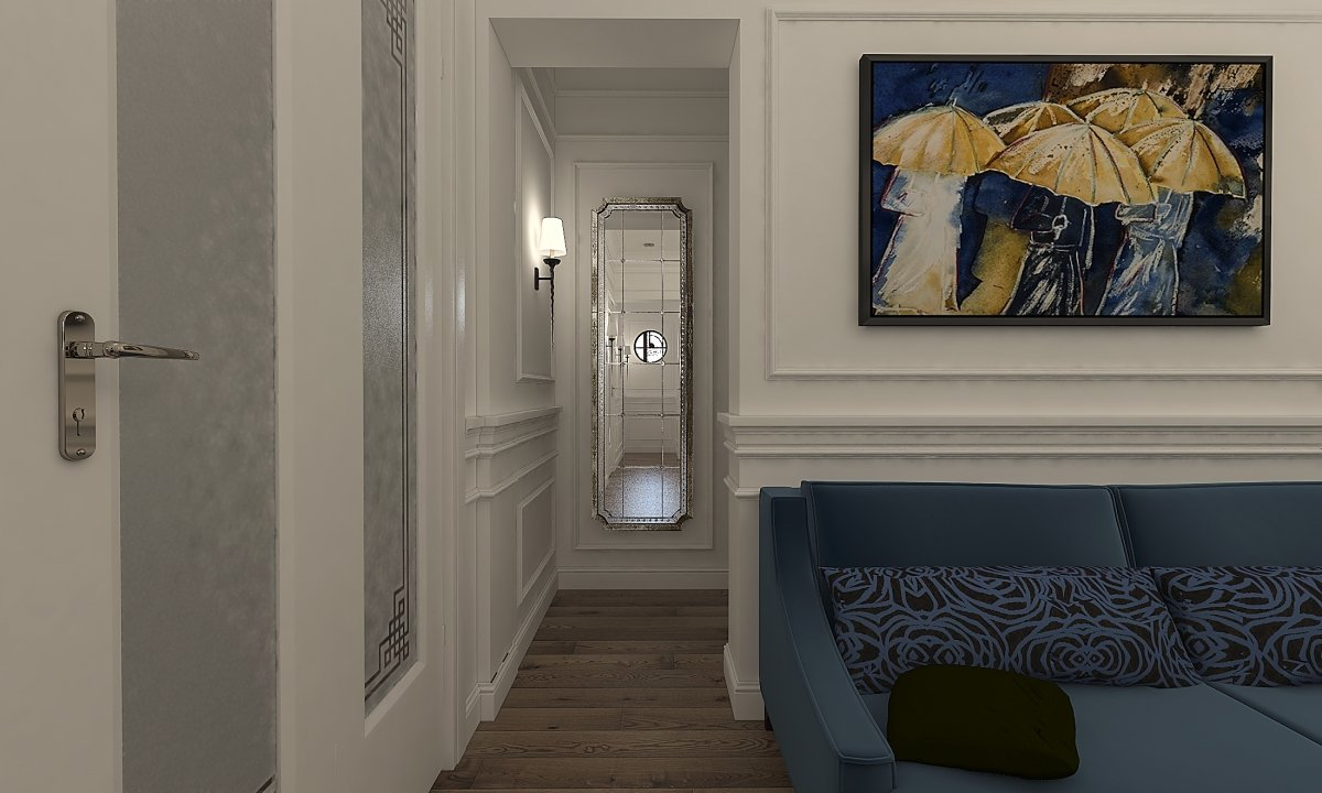 Amenajare apartament eclectic Bucuresti- Piata Romana-10