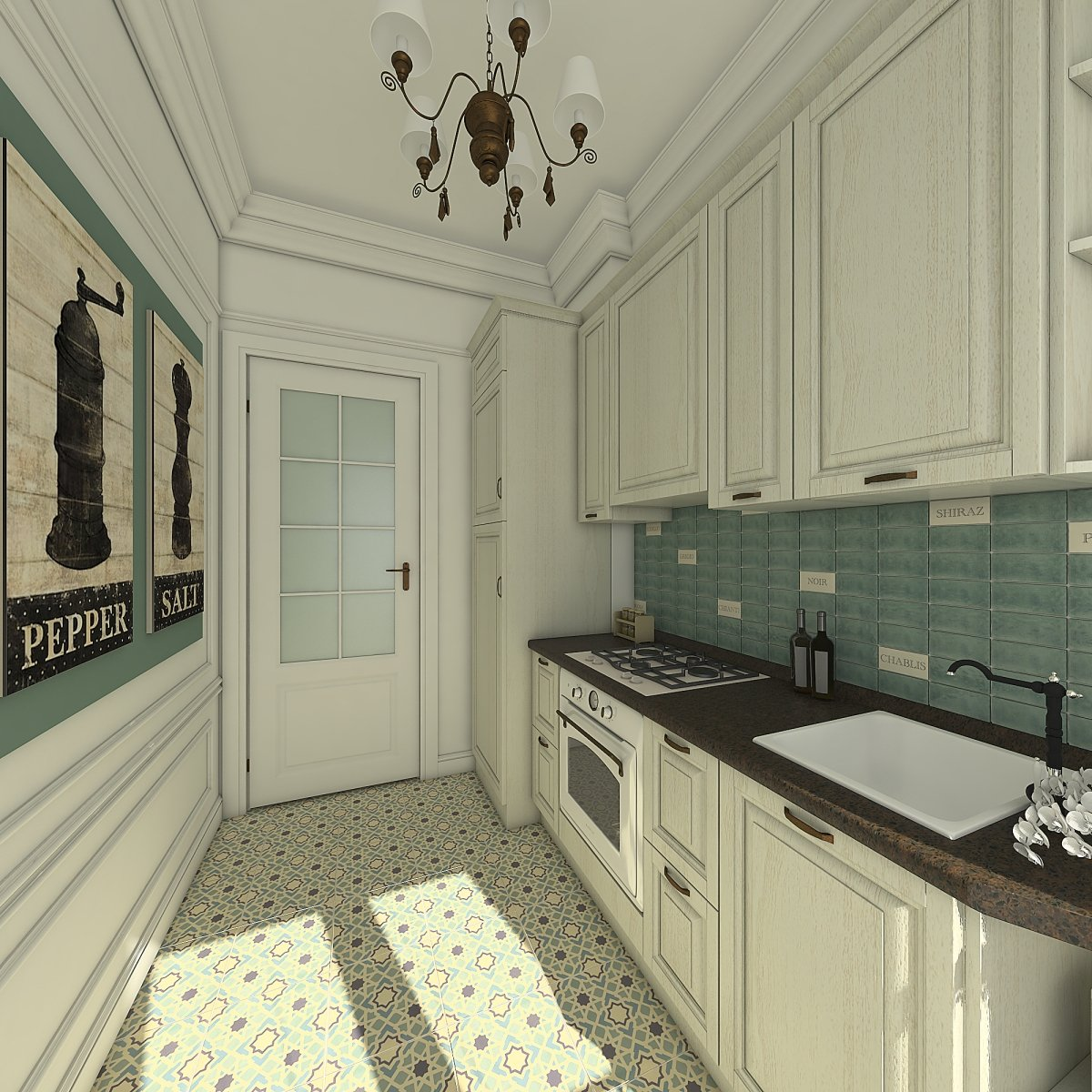 Amenajare apartament eclectic Bucuresti- Piata Romana-11