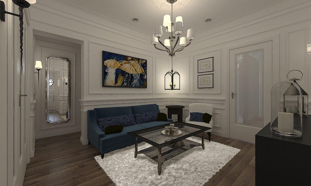 Amenajare apartament eclectic Bucuresti- Piata Romana-2