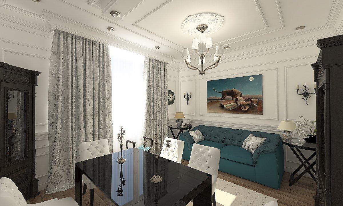 Amenajare apartament eclectic Bucuresti- Piata Romana-24