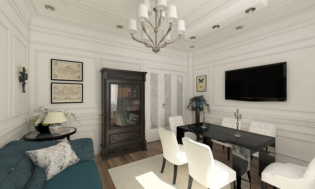 Amenajare apartament eclectic Bucuresti- Piata Romana-26