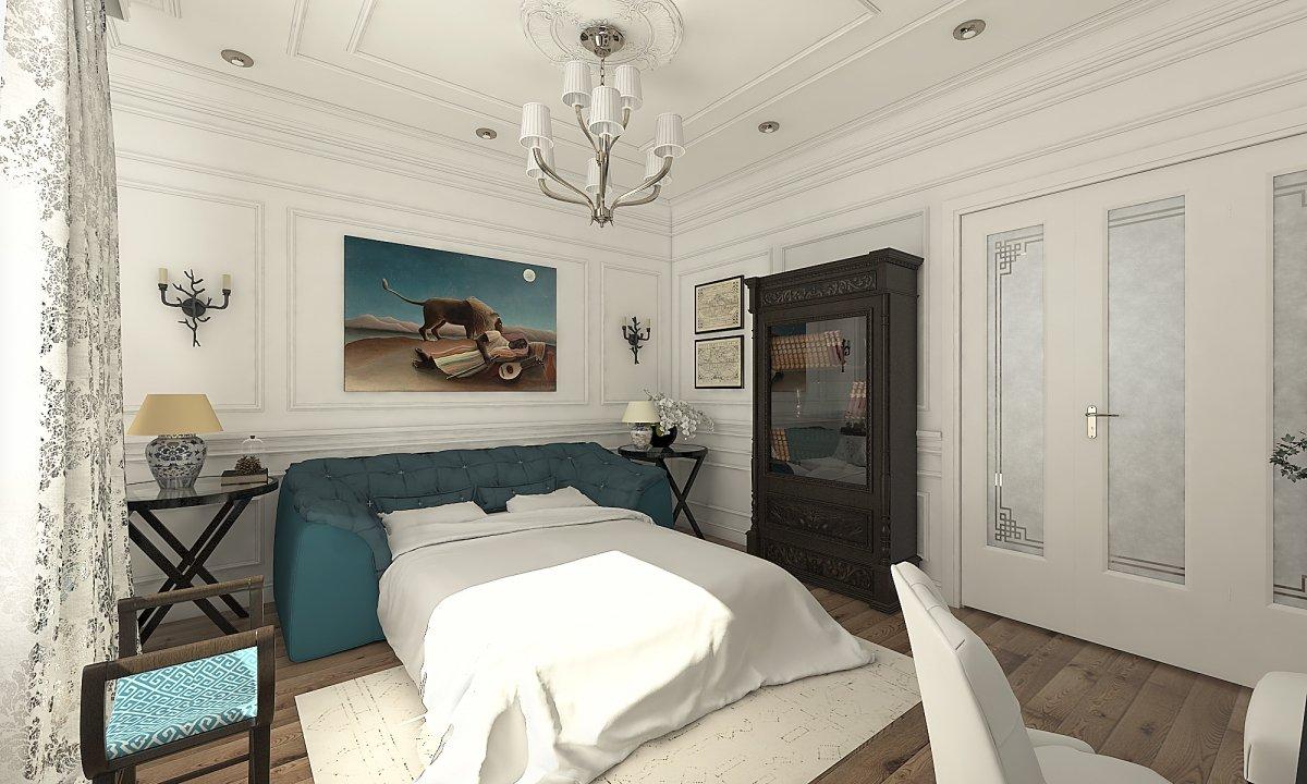 Amenajare apartament eclectic Bucuresti- Piata Romana-29