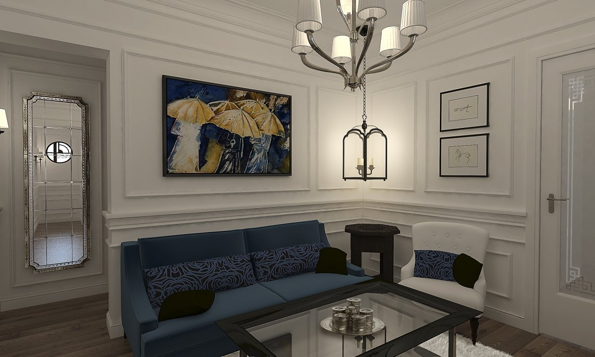 Amenajare apartament eclectic Bucuresti- Piata Romana-3