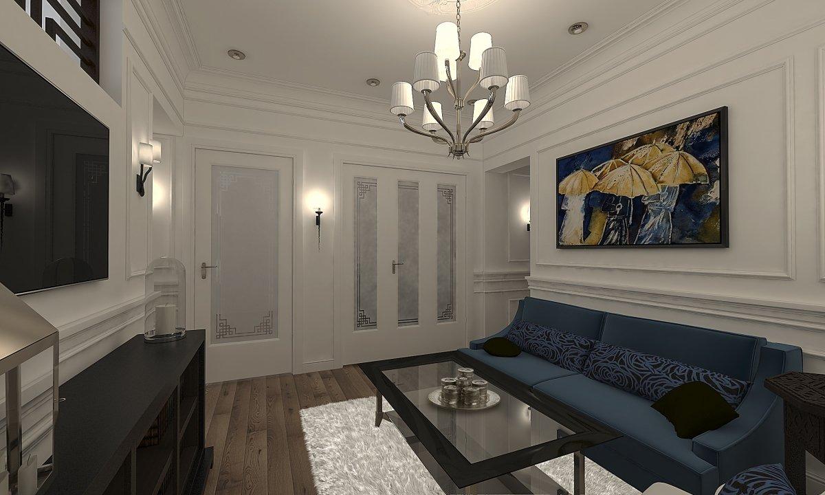 Amenajare apartament eclectic Bucuresti- Piata Romana-4