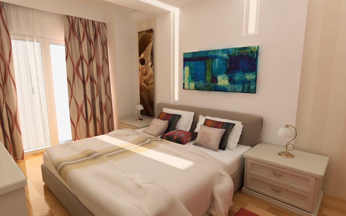 Amenajare interioara - Apartament accente Pop-art-15