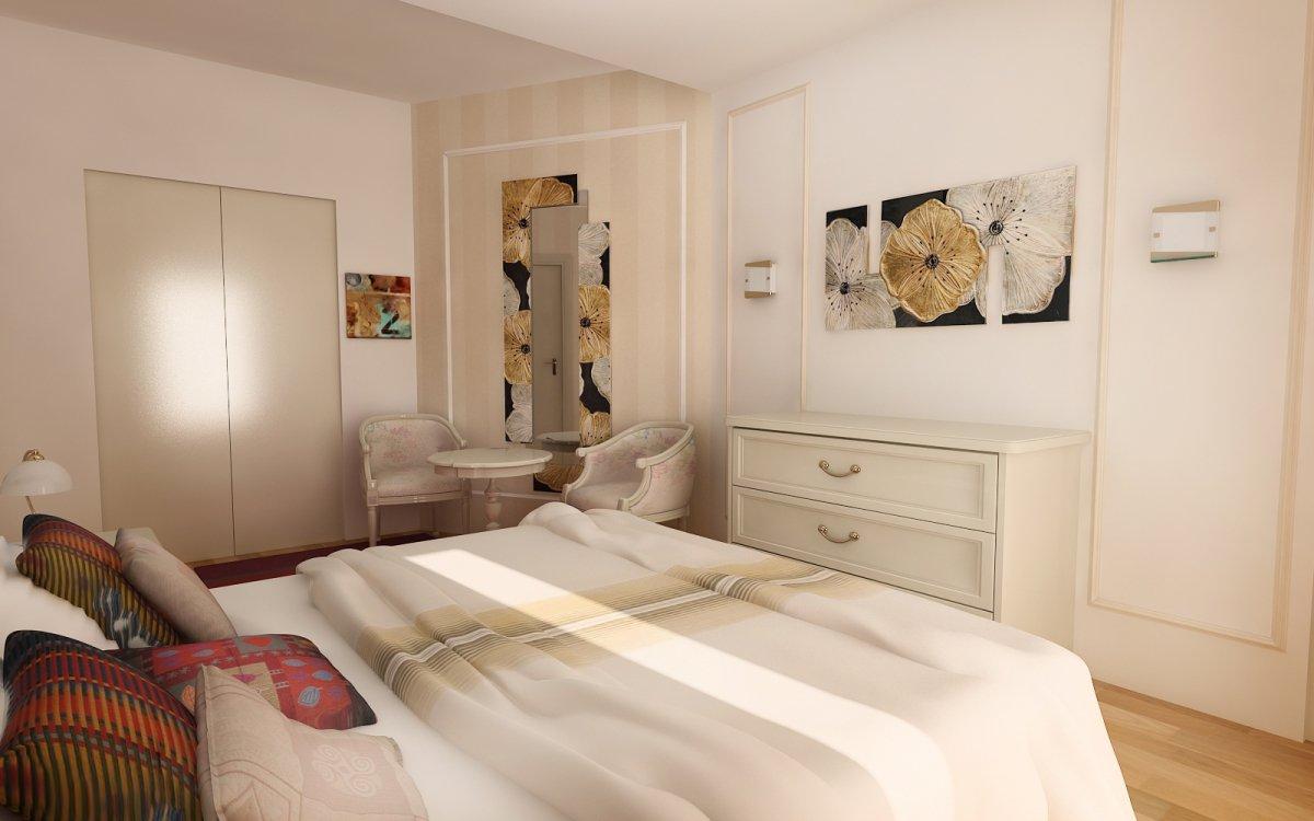 Amenajare interioara - Apartament accente Pop-art-18