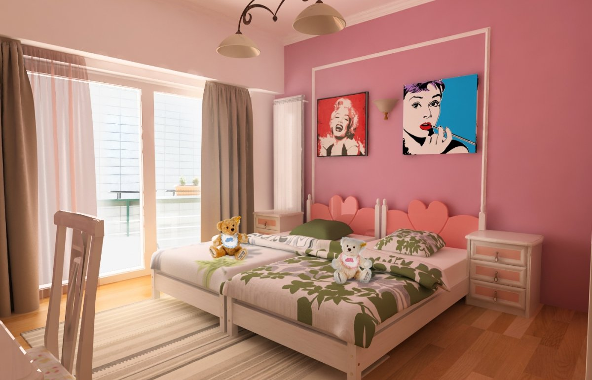 Amenajare interioara - Apartament accente Pop-art-19