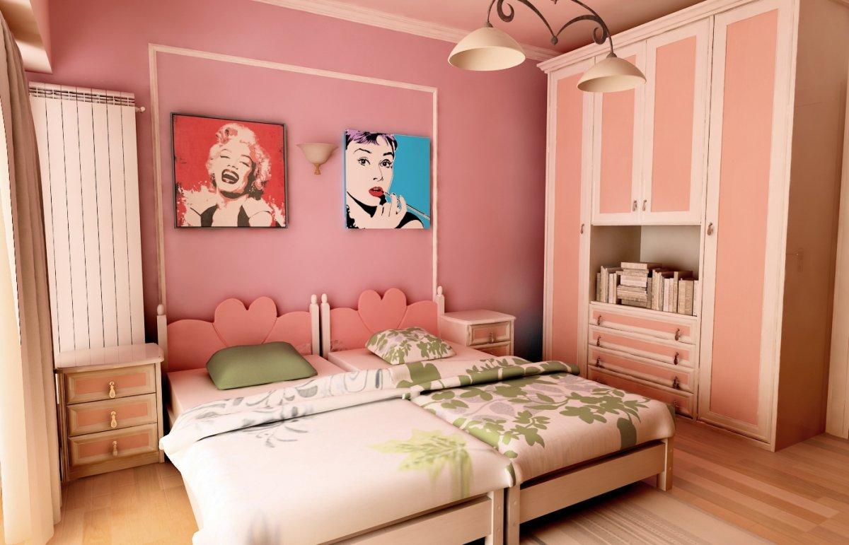 Amenajare interioara - Apartament accente Pop-art-20