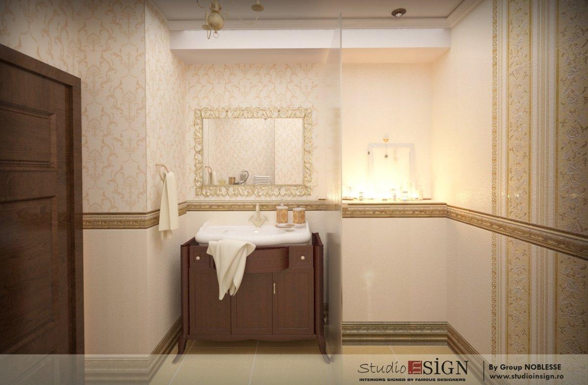 Amenajare interioara apartament clasic-9