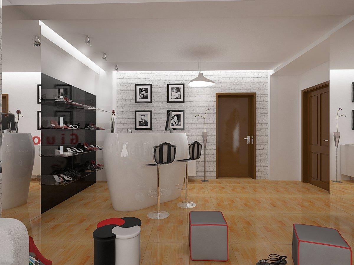 Amenajare interioara- magazin de incaltaminte-6