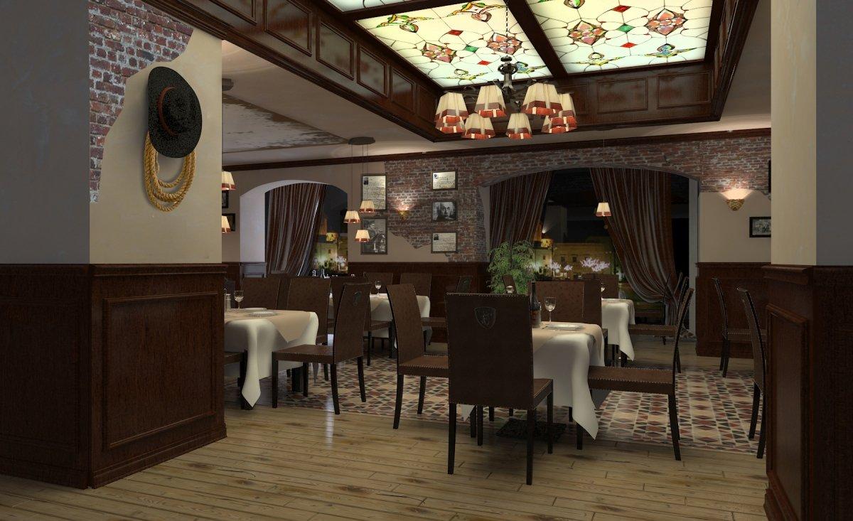 Amenajare interioara restaurant- Steak House-1