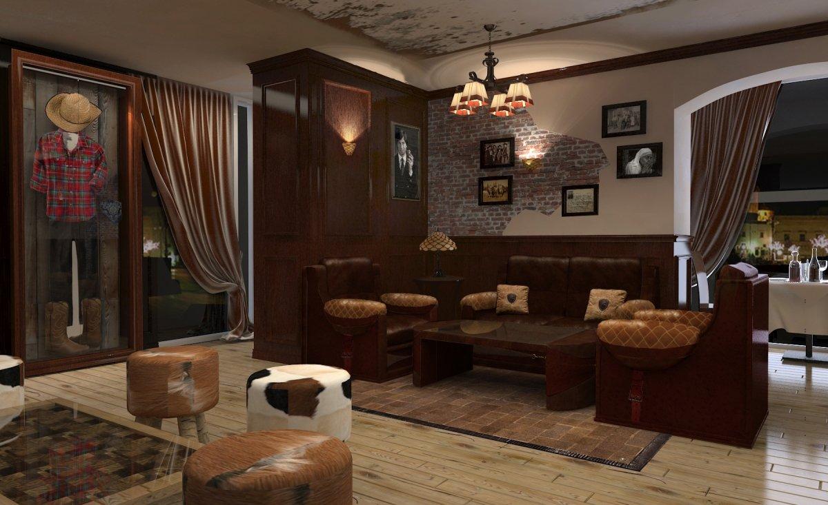 Amenajare interioara restaurant- Steak House-3