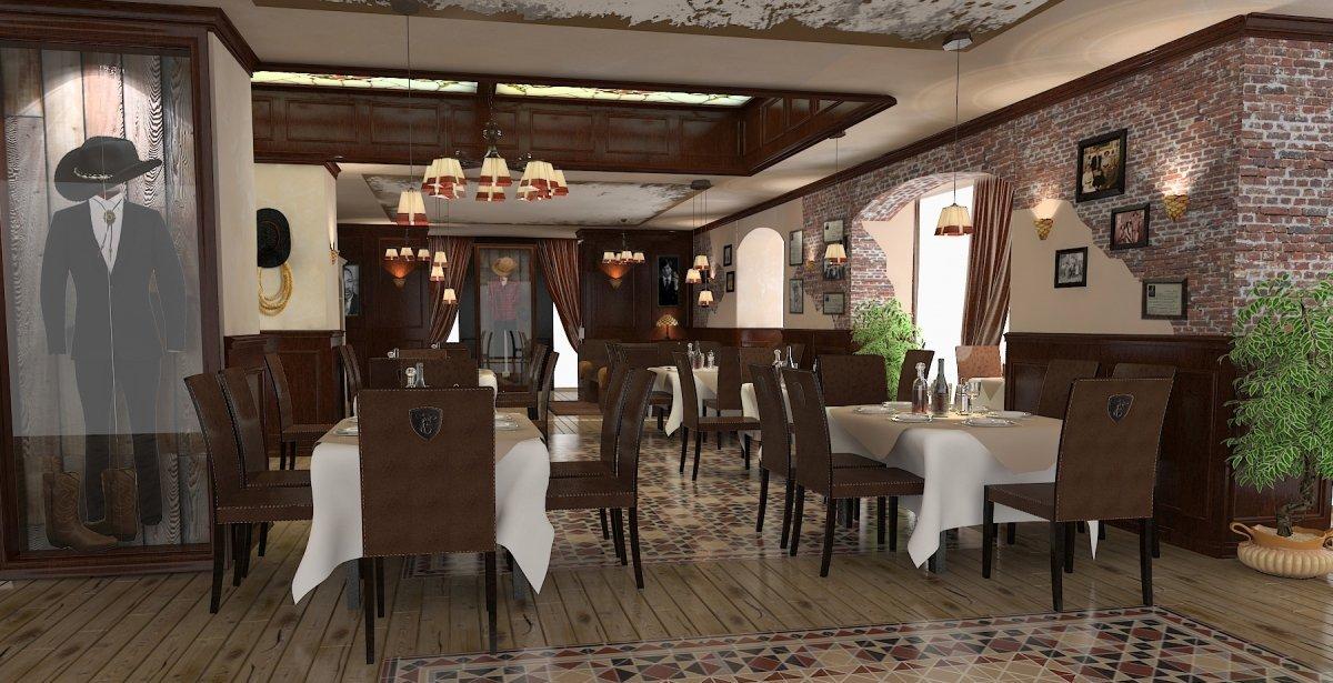 Amenajare interioara restaurant- Steak House-5