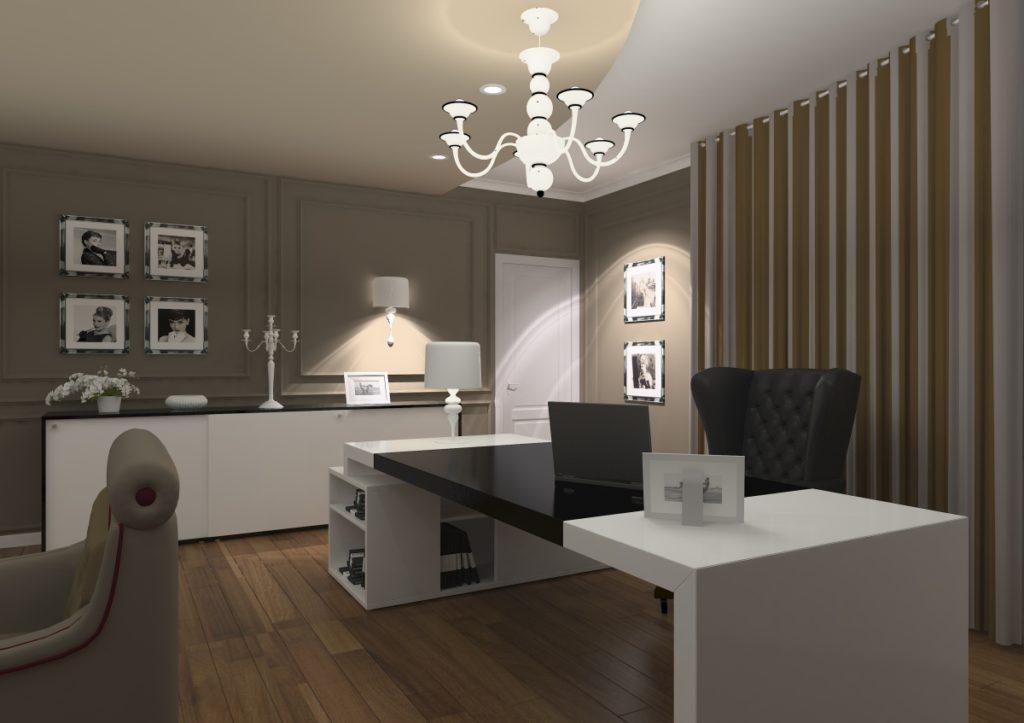 Amenajare interioara sediu de firma urgent curier - Home office interior design pictures ...