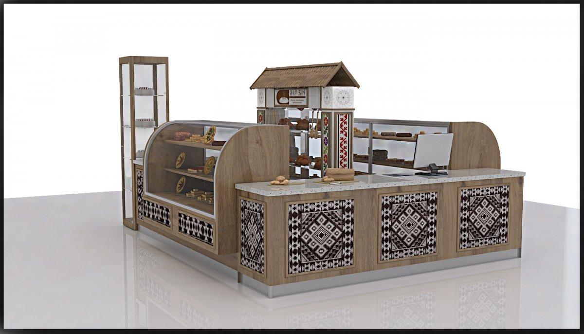 Amenajare interioara stand comercial produse de patiserie-2