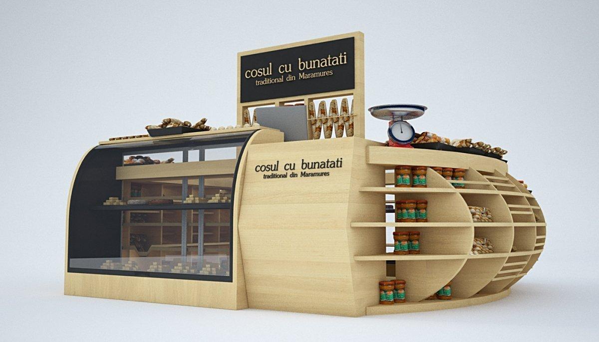 Amenajare stand comercial - Cosul cu bunatati-11