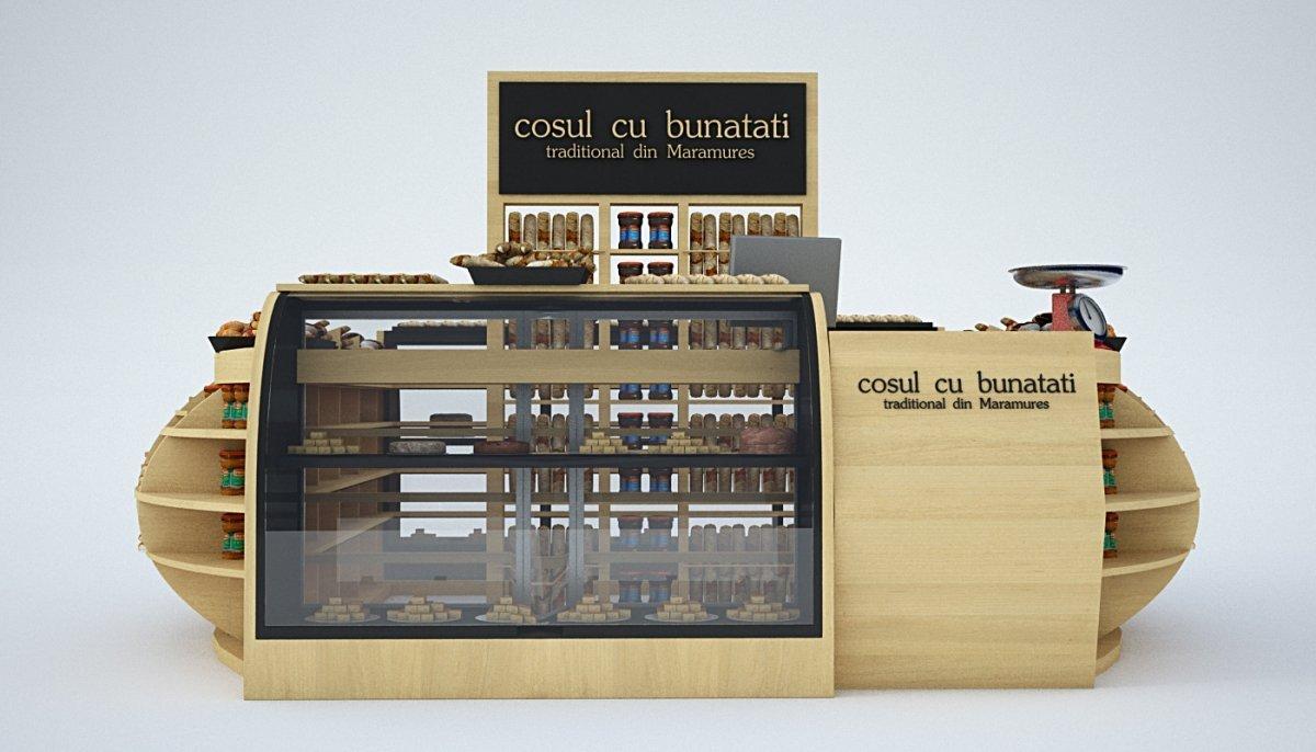 Amenajare stand comercial - Cosul cu bunatati-8