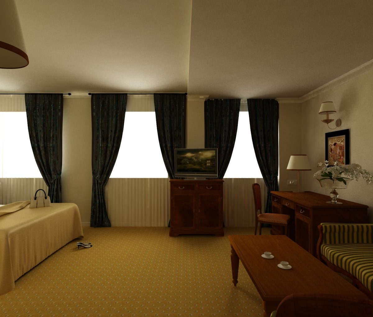 Art Hotel- amenajare interioara hotel-4