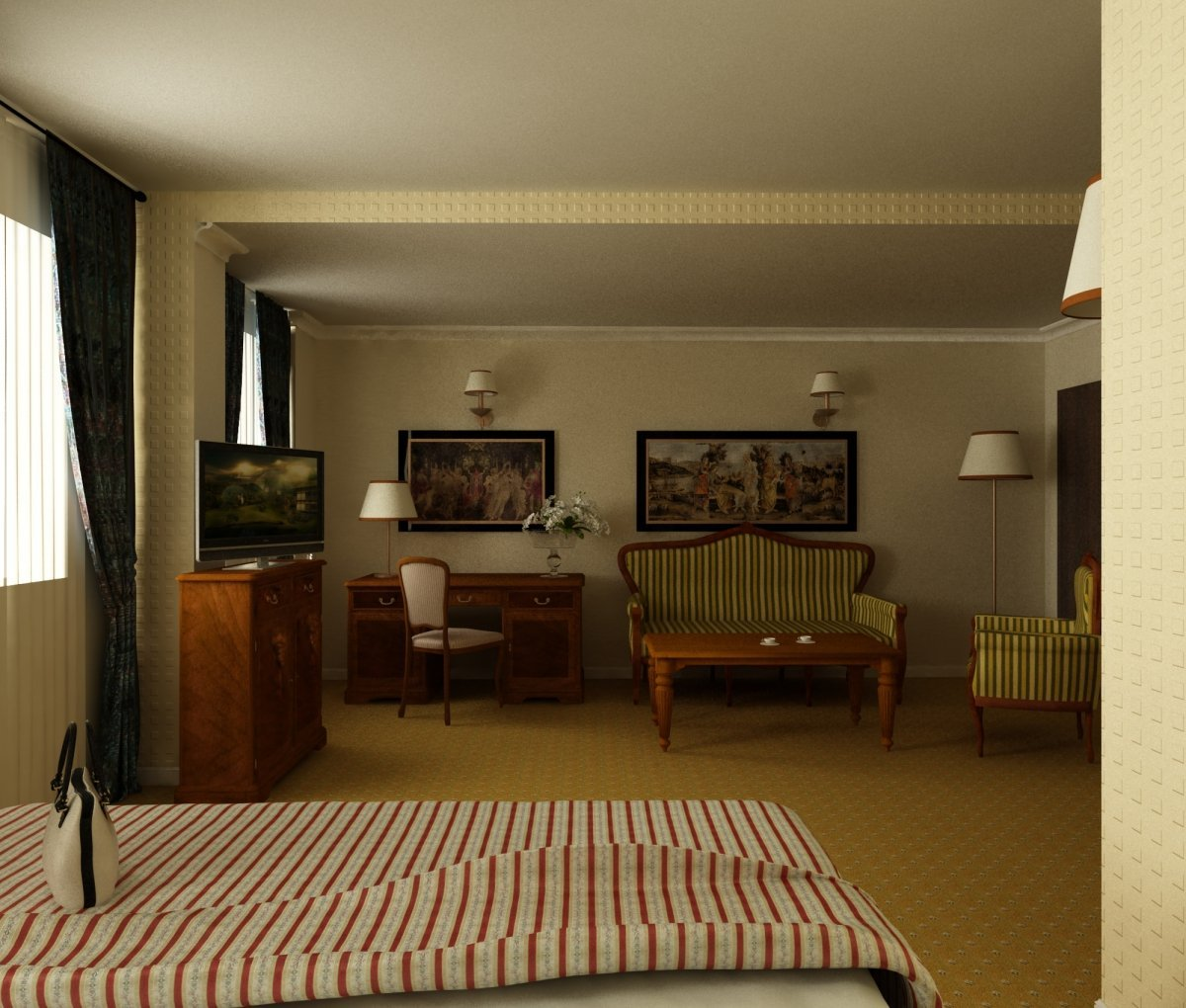 Art Hotel- amenajare interioara hotel-7