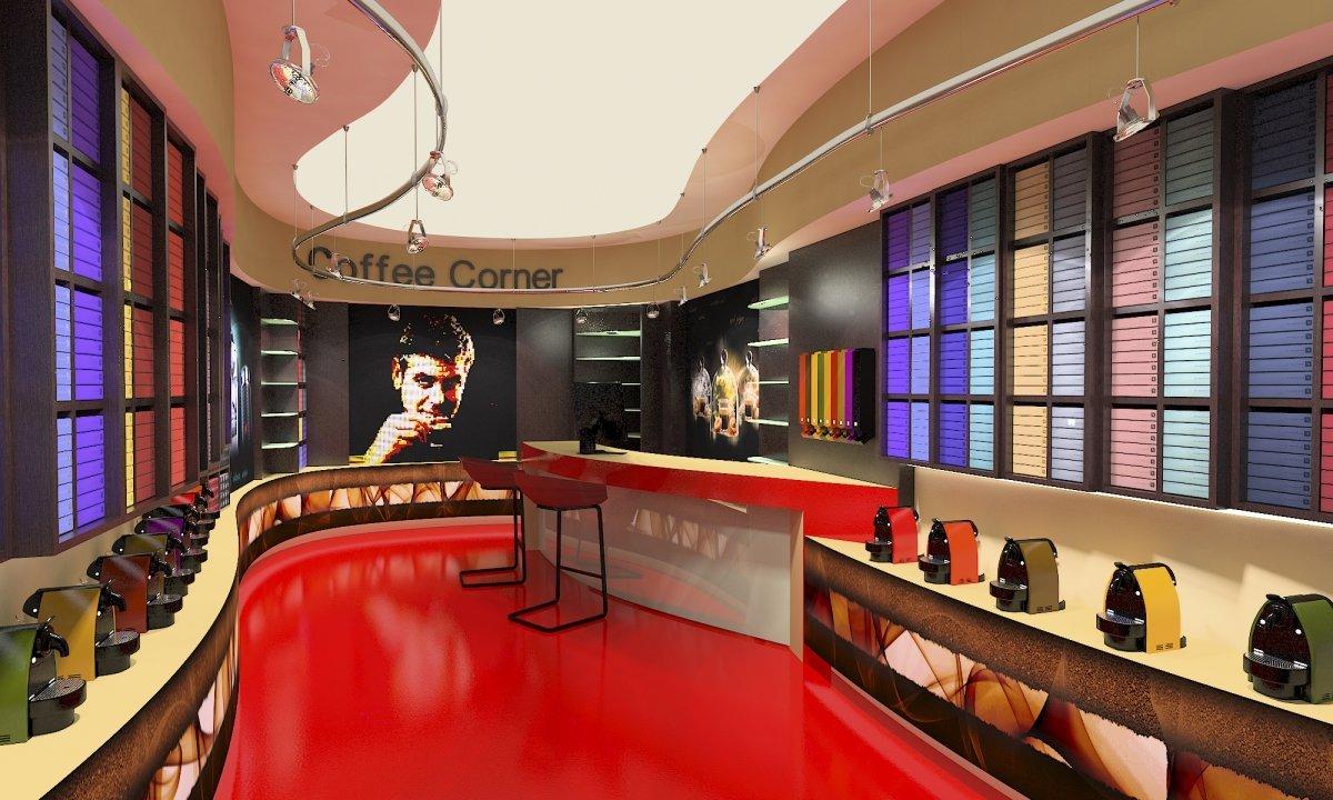 Coffee Corner - Amenajare interioara magazin de cafea-3