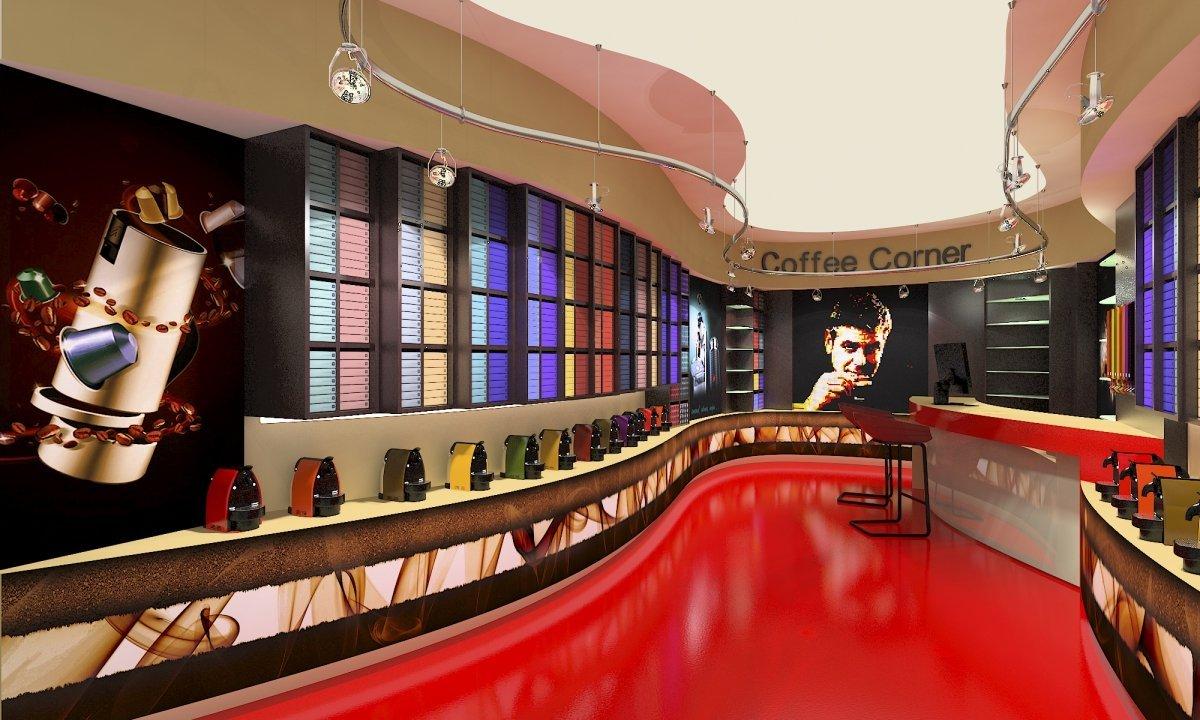 Coffee Corner - Amenajare interioara magazin de cafea-4