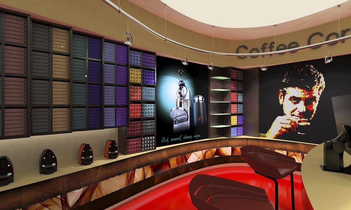 Coffee Corner - Amenajare interioara magazin de cafea-5