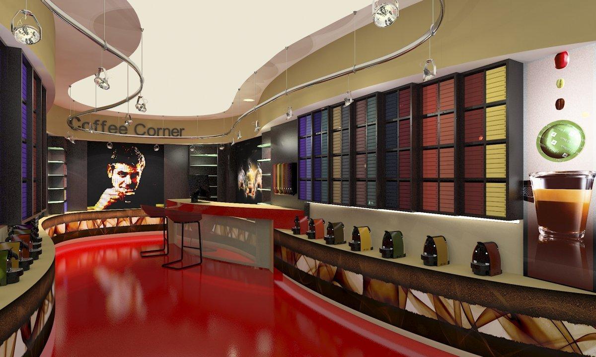 Coffee Corner - Amenajare interioara magazin de cafea-6