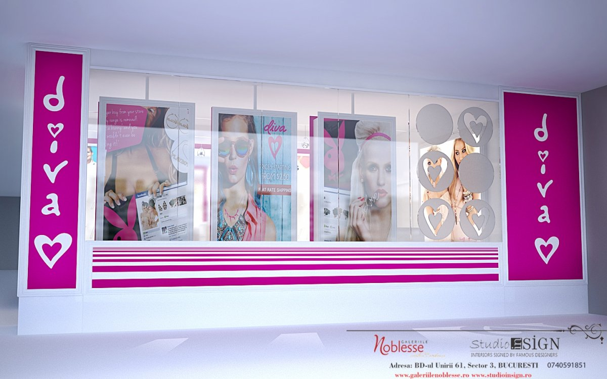 DIVA- amenajare interioara magazin de bijuterii-4