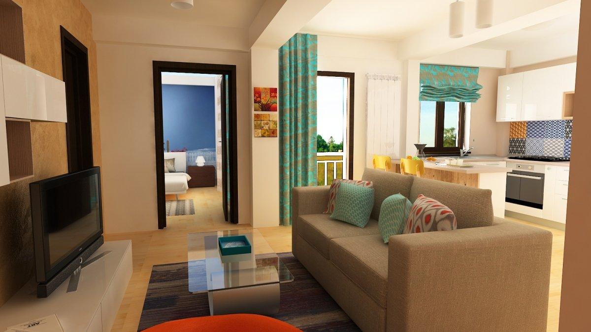 Design interior- Apartament in stil scandinav-1