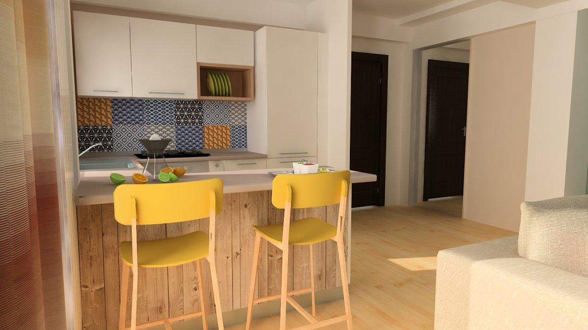 Design interior- Apartament in stil scandinav-2