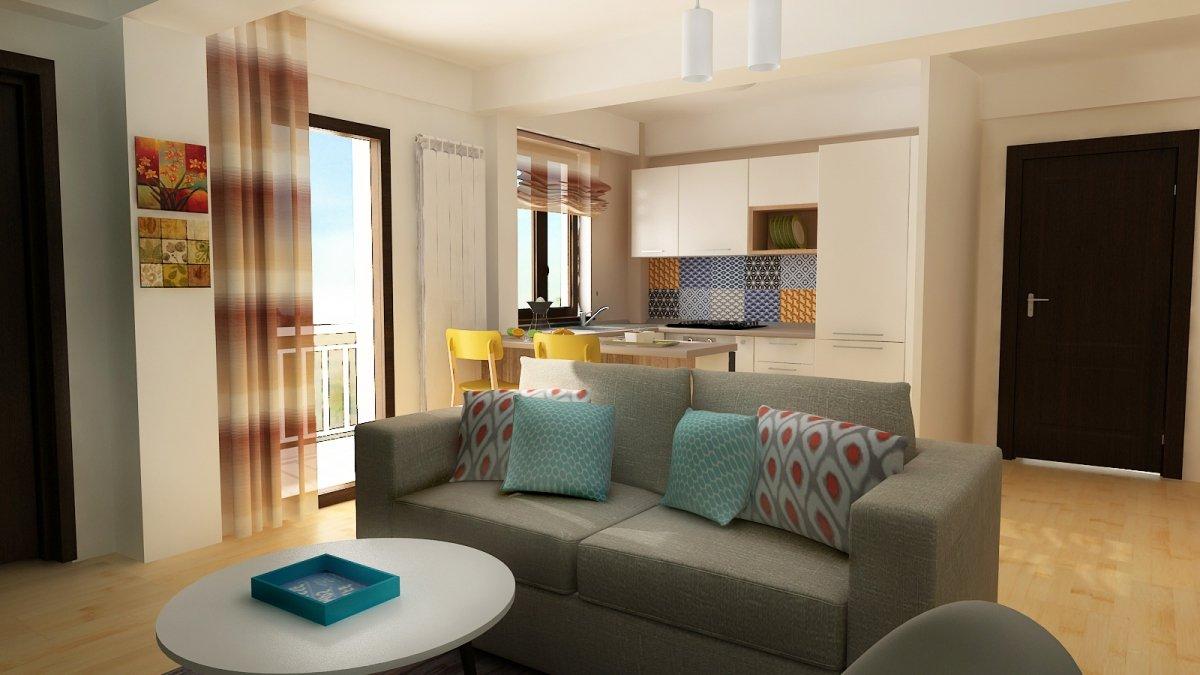 Design interior- Apartament in stil scandinav-6