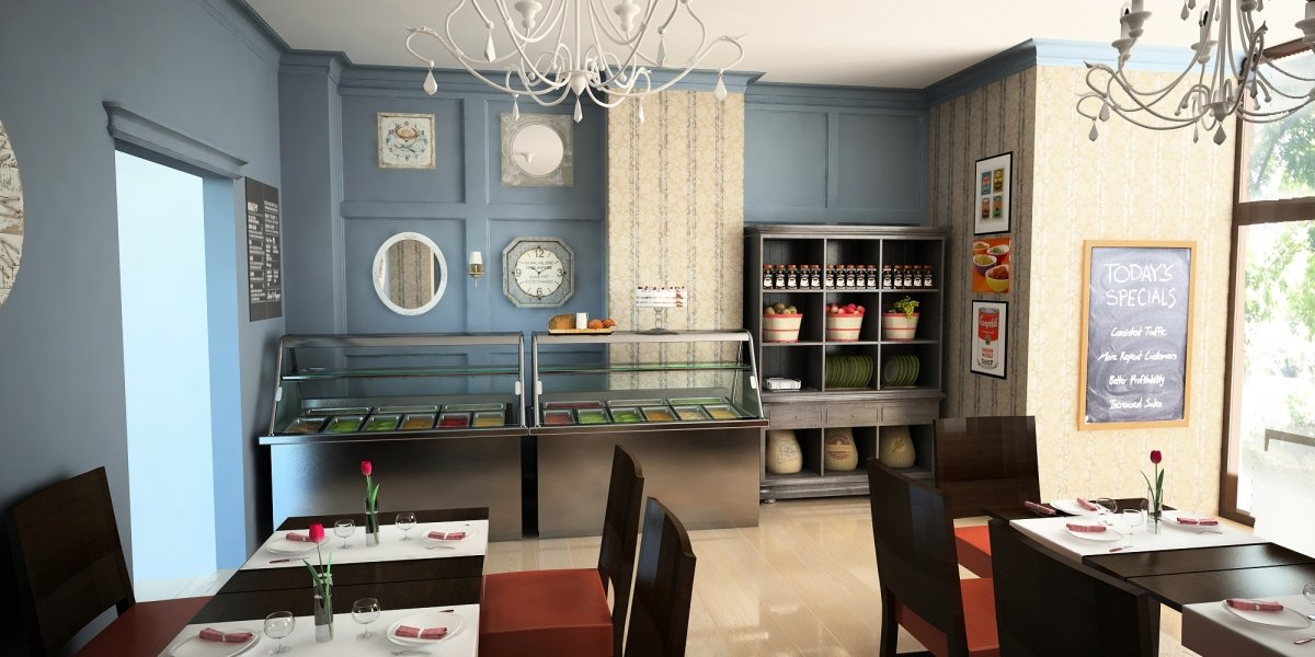 Design interior Bistro Swedish Buffet-2