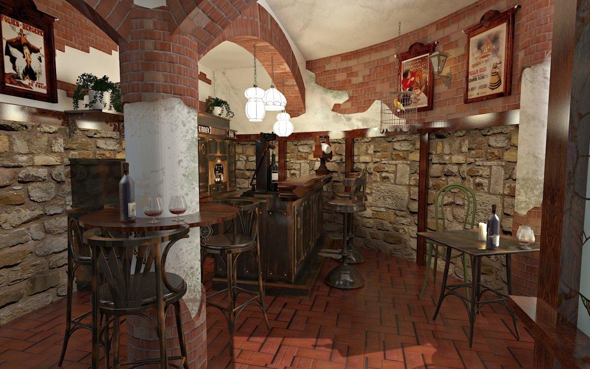 Design interior Cafenea Chateau de France-1