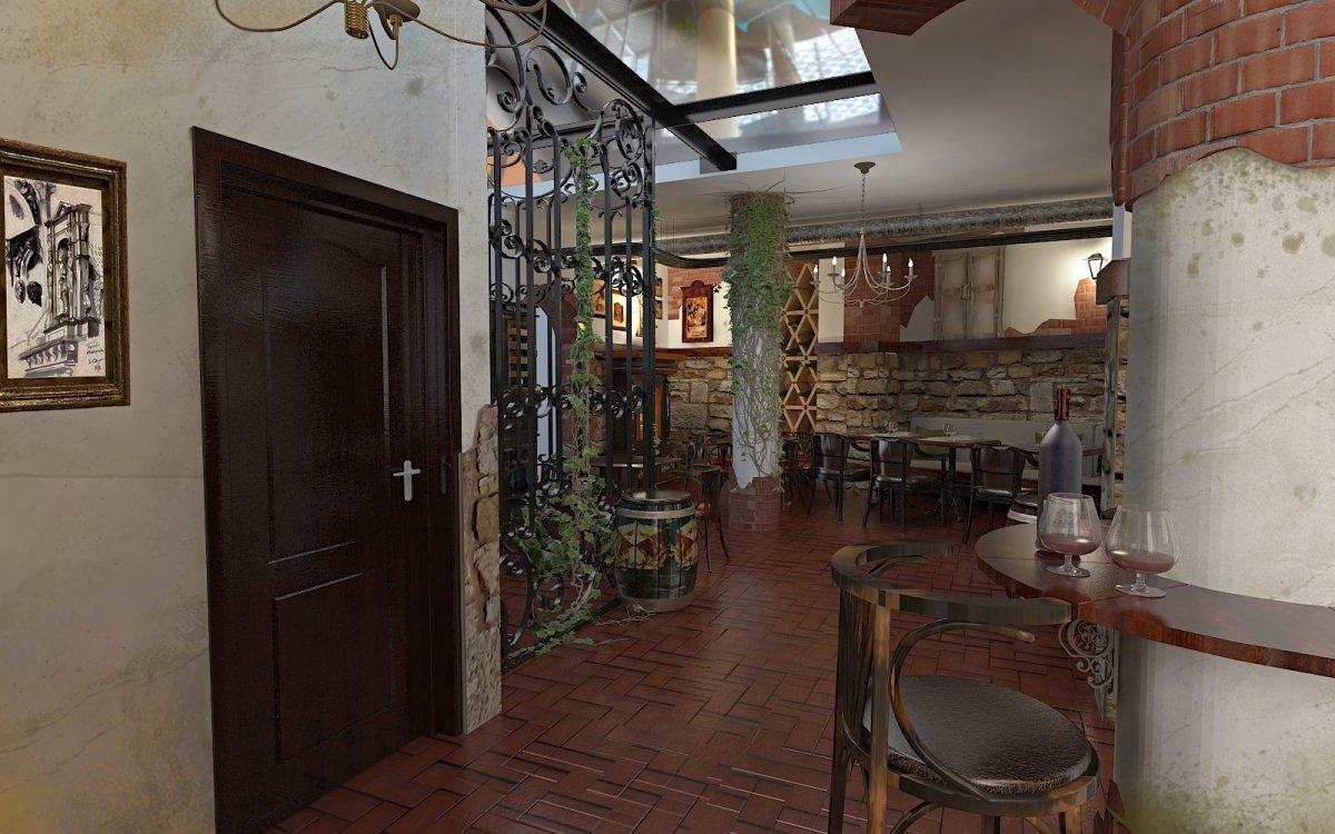 Design interior Cafenea Chateau de France-4
