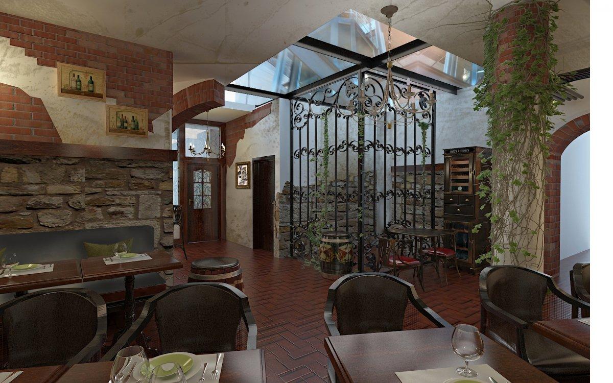Design interior Cafenea Chateau de France-5