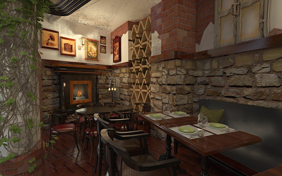 Design interior Cafenea Chateau de France-6