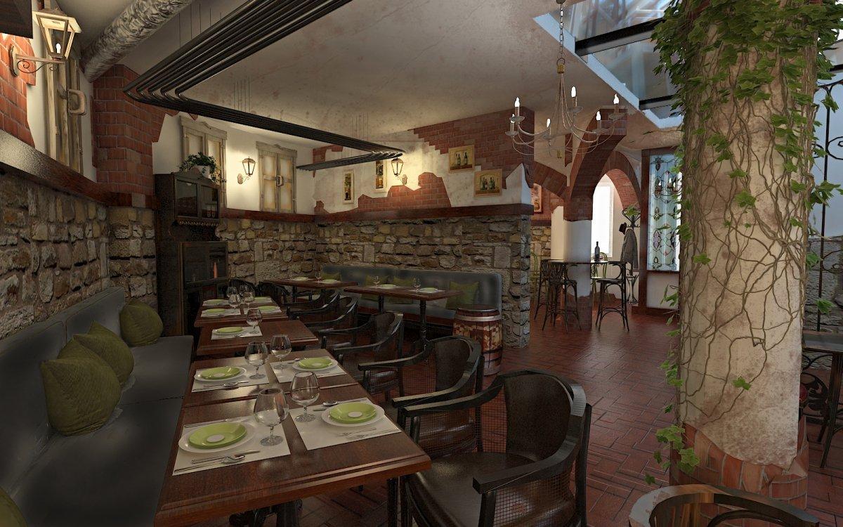 Design interior Cafenea Chateau de France-7