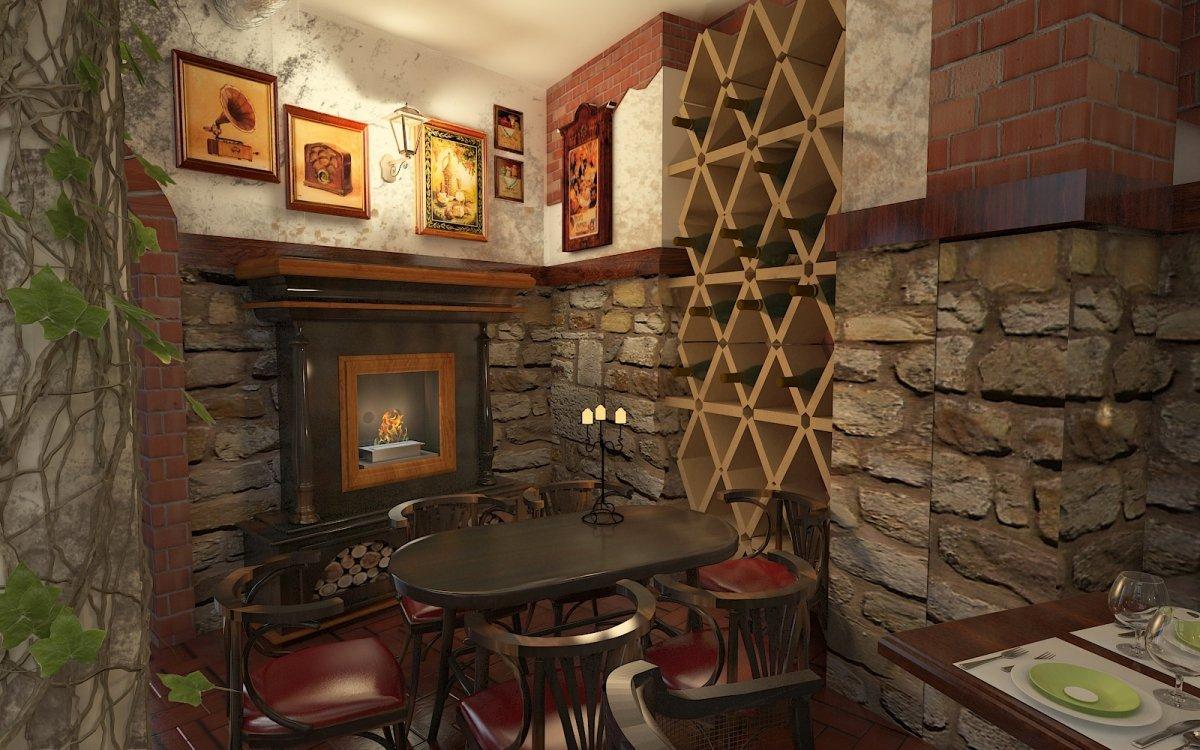 Design interior Cafenea Chateau de France-8