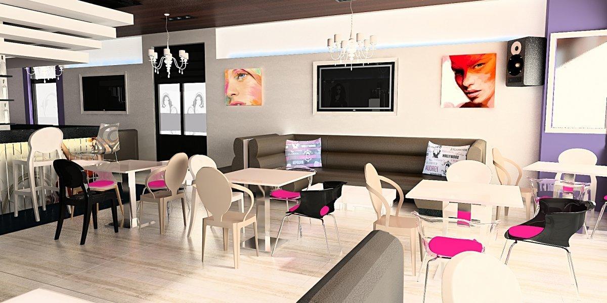 Design interior Cafenea in Calarasi-1