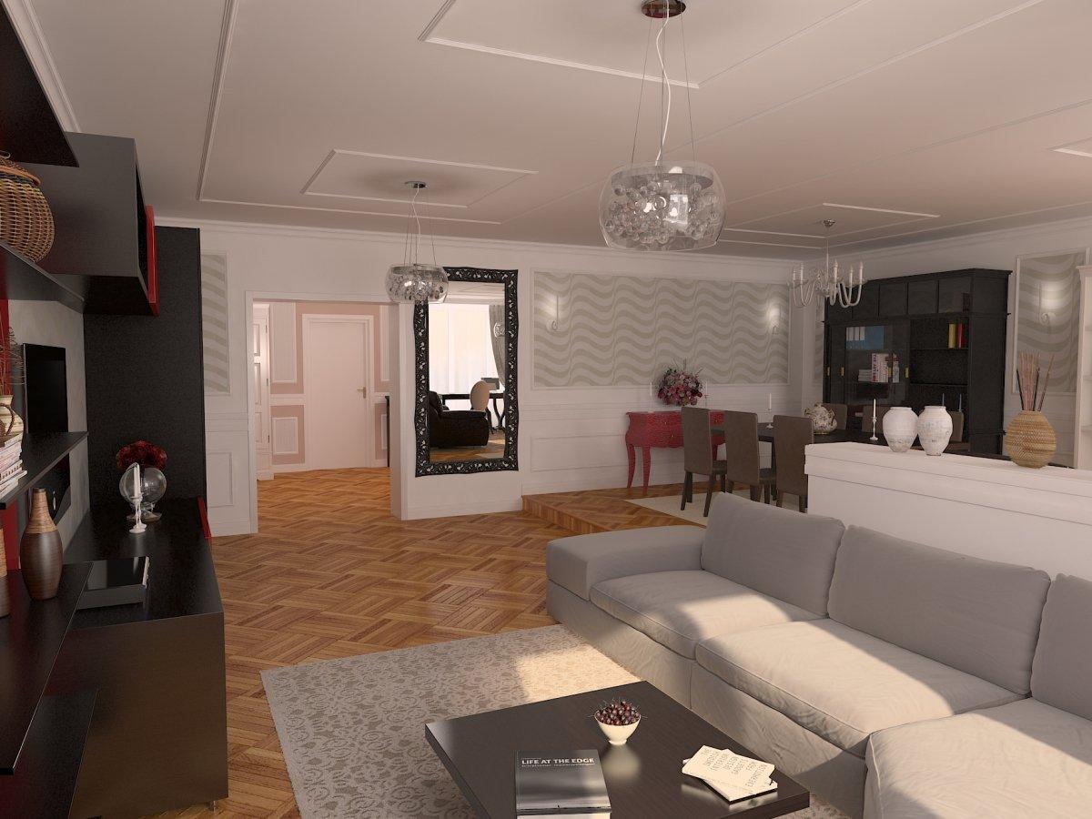 Design interior apartament modern - Orhideea-1
