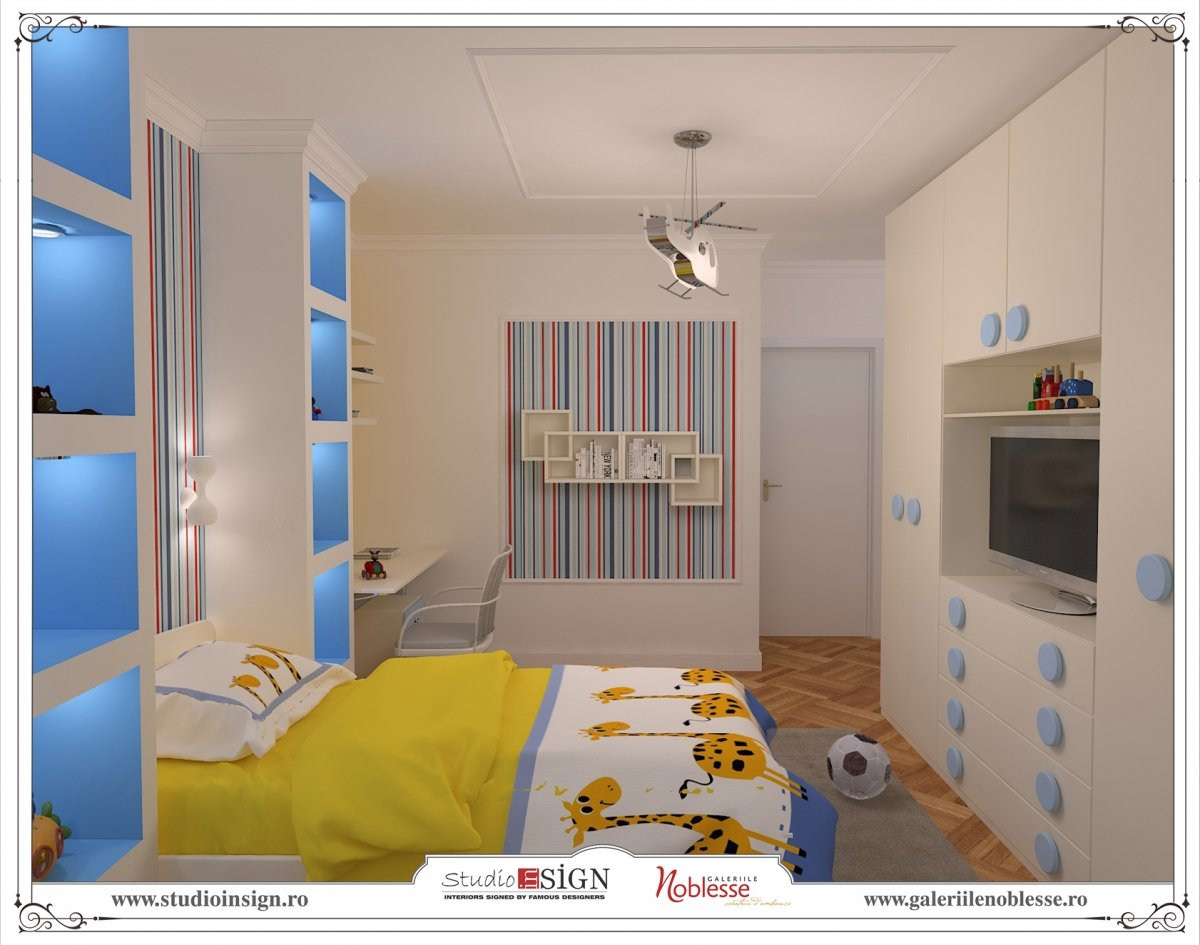 Design interior apartament modern - Orhideea-12