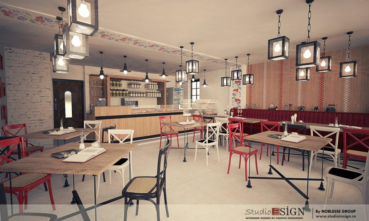 Design interior bistro- Cuptorul din Poveste 1-1