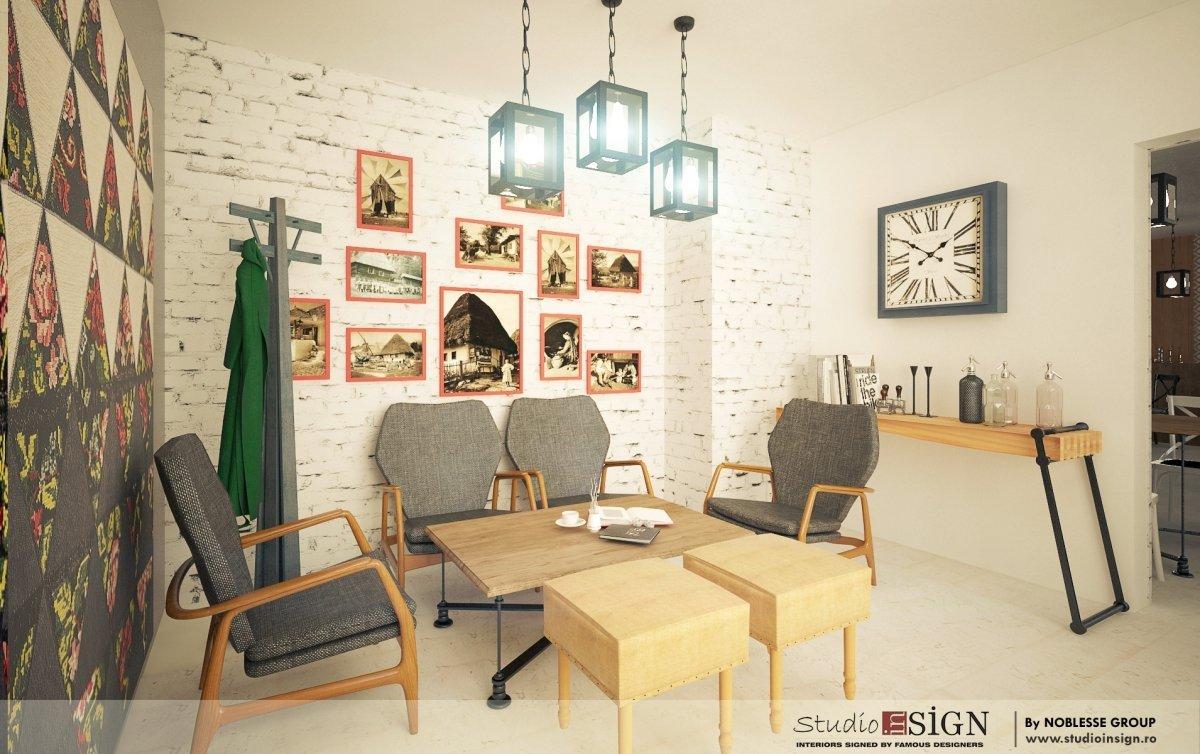 Design interior bistro- Cuptorul din Poveste 1-2