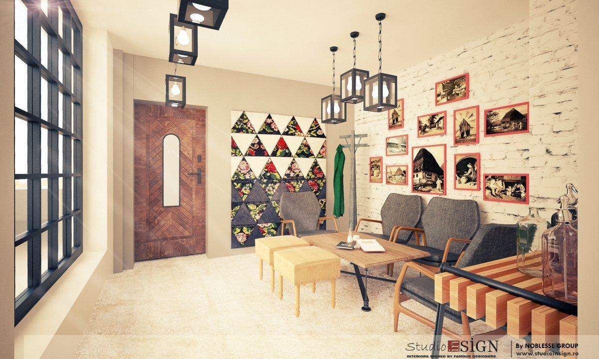 Design interior bistro- Cuptorul din Poveste 1-3