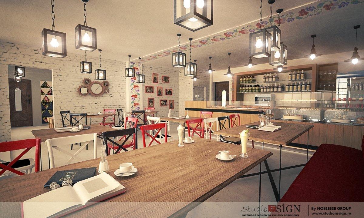 Design interior bistro- Cuptorul din Poveste 1-4