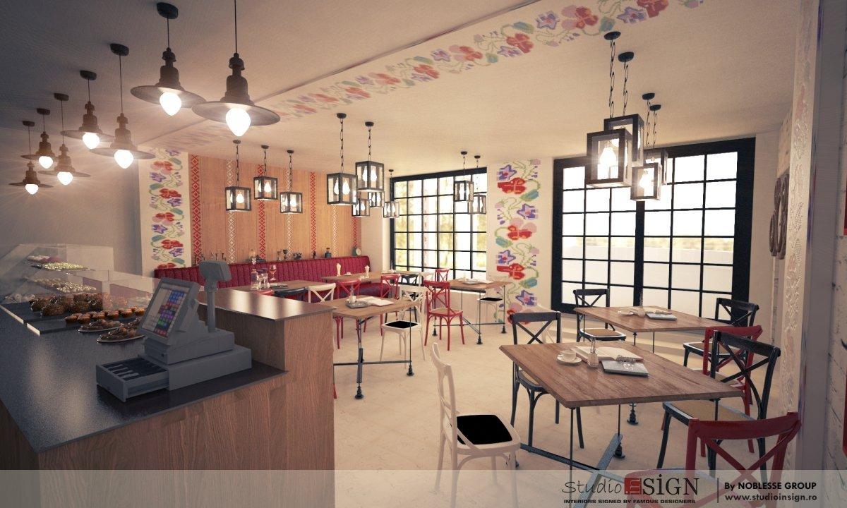 Design interior bistro- Cuptorul din Poveste 1-5