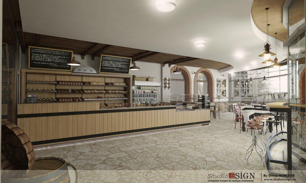 Design interior bistro- Cuptorul din Poveste 1-6