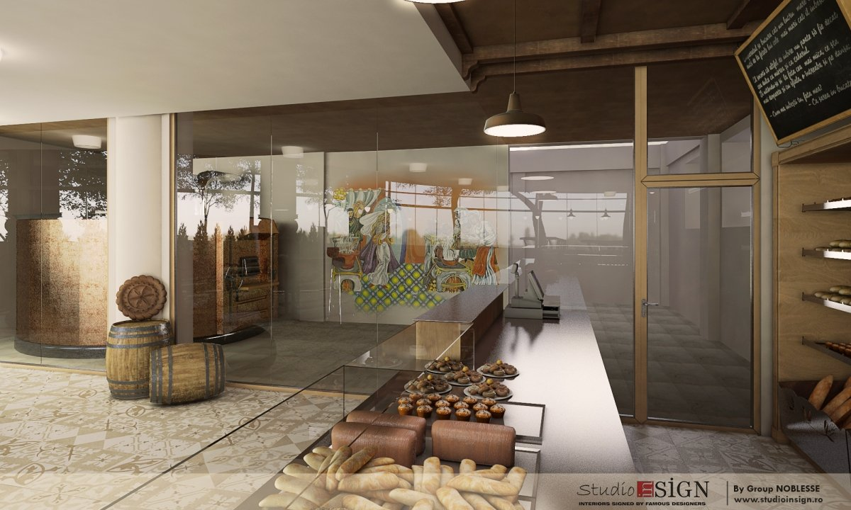 Design interior bistro- Cuptorul din Poveste 1-8