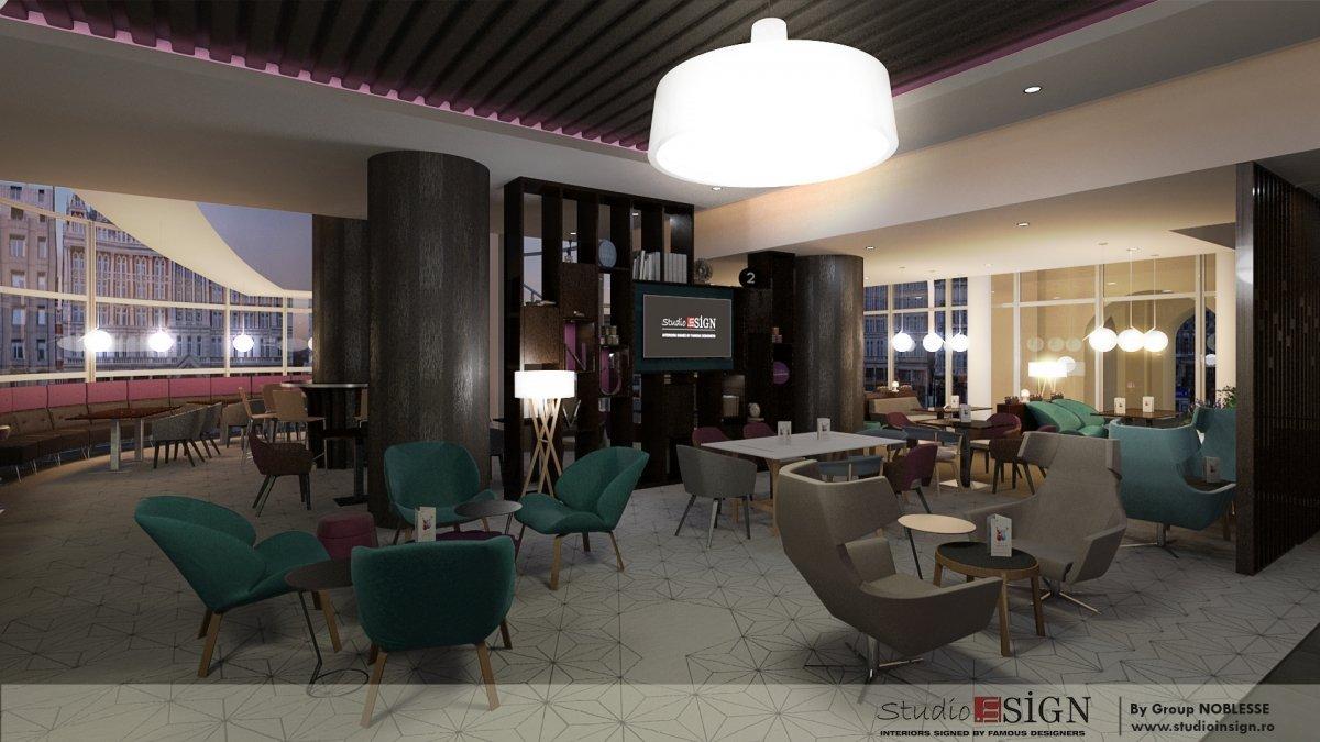 Design interior bistro Novo 2-3